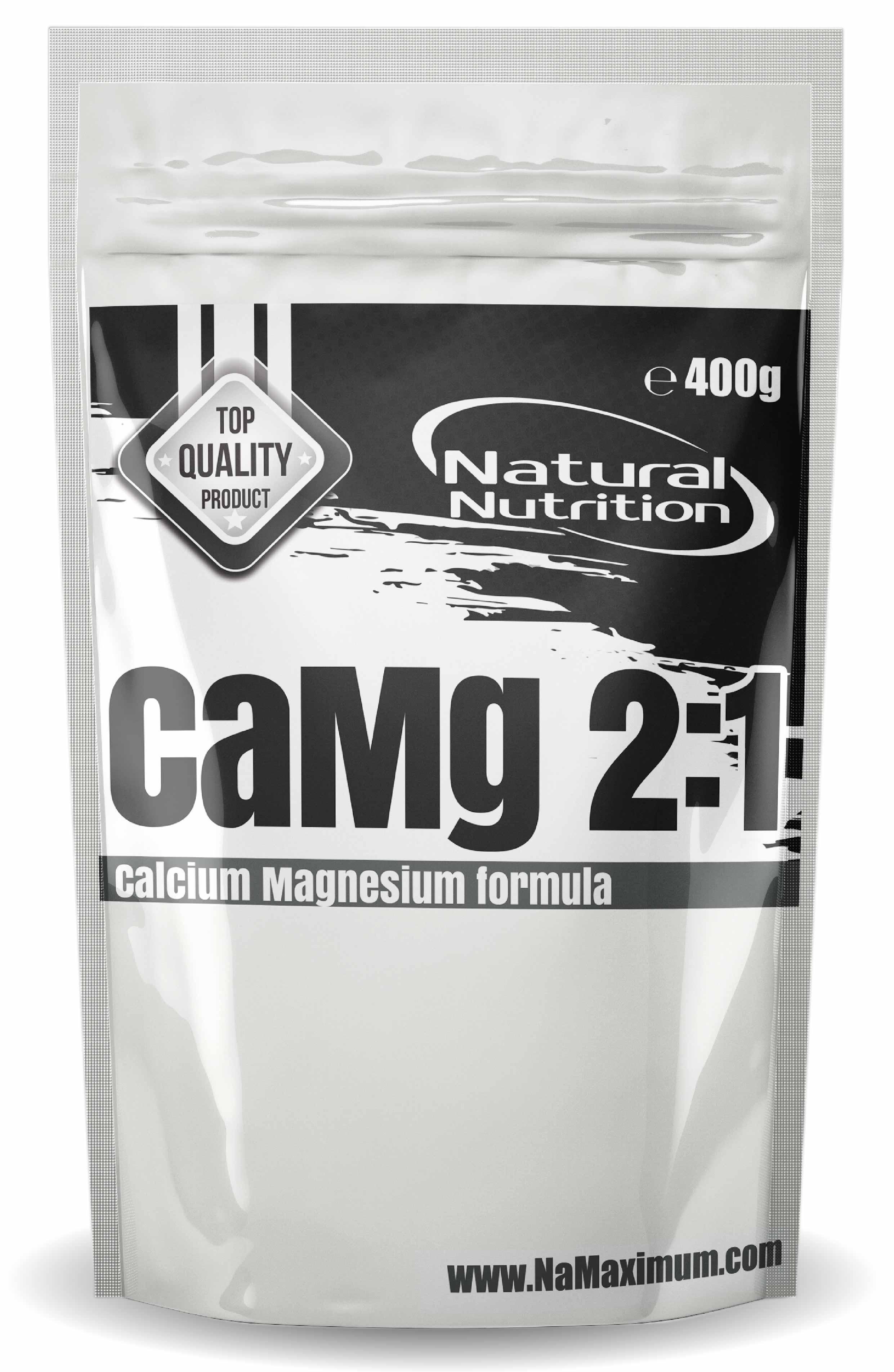 CaMg 2:1 - Vápnik + horčík Natural 100g