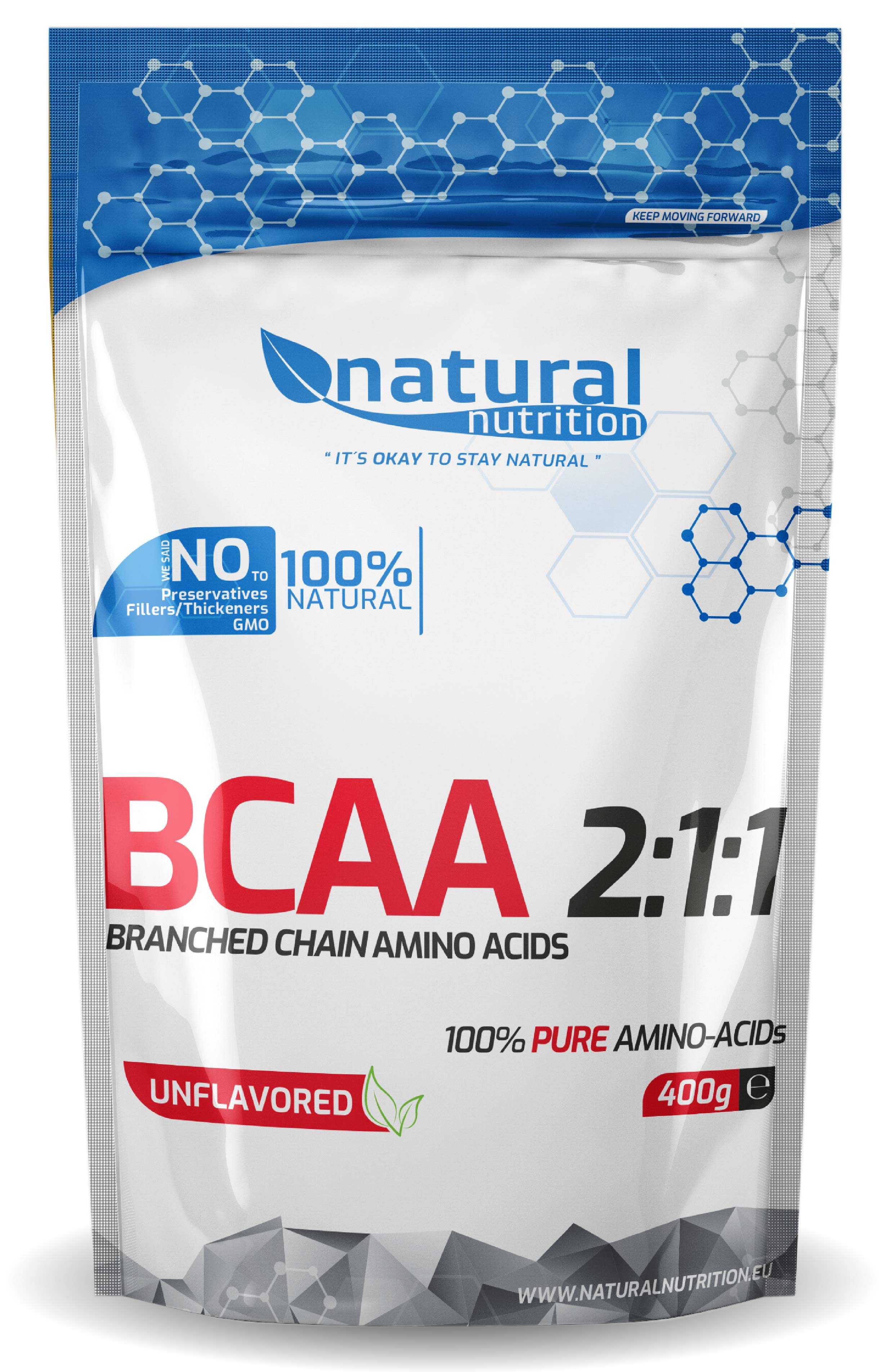 BCAA 2:1:1 aminokyseliny Natural 100g