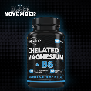 Chelated Magnesium+B6 tablety