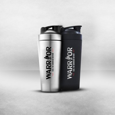 Shaker Warrior Steel 750ml – Oceľový šejker